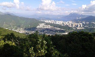 Hong Lok Yuen Housing estate in Tai Po, Hong Kong