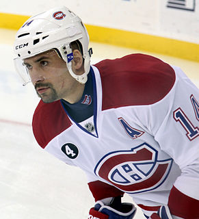 Tomáš Plekanec Czech ice hockey player