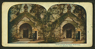 West Lawn Cemetery - Werts Receiving Vault, where President William McKinley was interred until his memorial was completed
