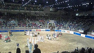 Coca-Cola Coliseum - The Royal Horse Show during the Royal Agricultural Winter Fair, an event hosted by the Coliseum.