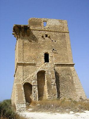 Manfria - Image: Torre di manfria 123