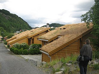 Decentralized wastewater system - Decentralized wastewater system in Torvetua eco-village in Norway. Wastewater is collected by a vacuum sewer. Greywater is treated locally.