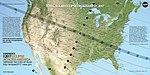 Total Solar Eclipse 2017 Path USA Map (35648388314).jpg