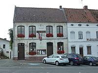 Tournehem-sur-la-Hem (Pas-de-Calais, Fr) mairie.JPG
