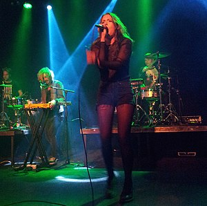 Tove Lo - Tove Lo performing at the Tavastia Club in Helsinki in 2014.