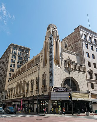 Broadway Theater District (Los Angeles) - Tower Theatre