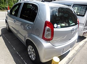 "Toyota PASSO 1.0X""G package"" (XC30) rear.JPG"