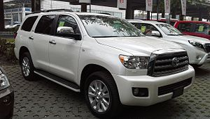 Toyota Sequoia XK60 China 2014-04-15.jpg