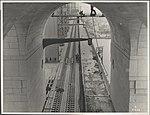 Train lines on the Harbour Bridge, 1932 (8282702081).jpg