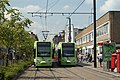 Trams in George Street, Croydon - geograph.org.uk - 1433564.jpg