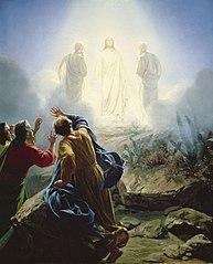 La Transfiguration de Jésus