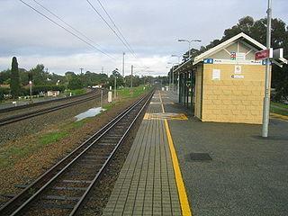 Woodbridge railway station, Perth Railway station in Perth, Western Australia