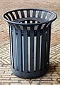 Trash bin at Viborg Katedralskole.jpg