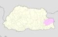 Trashigang Bhutan location map.png
