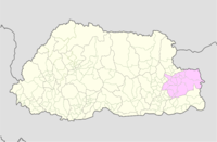 Trashigang Bhutan location map.png