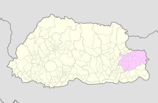 Trashigang District dzongkhag