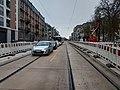Travaux tram Strasbourg-Koenigshoffen (2019), station Porte blanche 02.jpg