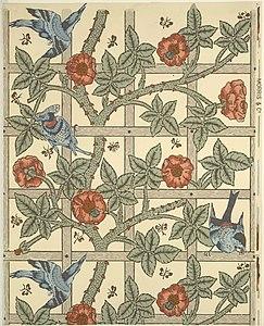 William Morris Wallpaper Designs Wikipedia