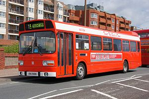 Trentbarton - Preserved Leyland National in Trent Motor Traction Company livery