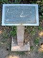 Triftanlagen, Celle, Hochwasserstandsmarke Höhe NN 37,35m NN am 12.02.1945, Wasserwirtschaftsamt Verden, Detail.jpg
