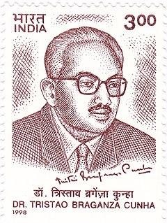 Tristão de Bragança Cunha Indian nationalist from Goa