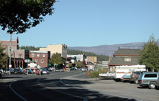 Truckee, California Town in California in the United States
