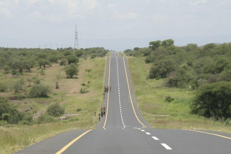 Trunk road Tanzania