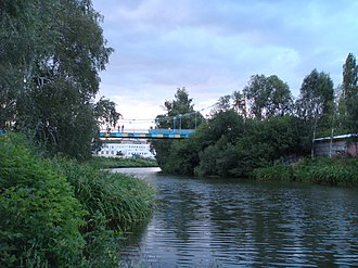 Tsna River (Moksha basin) - Image: Tsna in the center of Tambov