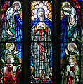 Tuam Cathedral of the Assumption Window Maria in Coelum assumpta Detail 2009 09 14.jpg