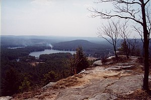 view from Tully Mountain, Massachusetts