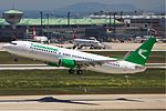 Turkmenistan Airlines Boeing 737-800 green Karakas.jpg