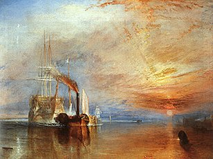 Turner's The Fighting Temeraire; 1839.[127]