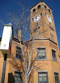 El Palacio de Justicia del Condado de Macon en Tuskegee se agregó al Registro Nacional de Lugares Históricos el 17 de noviembre de 1987