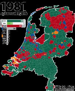 1981 Dutch general election