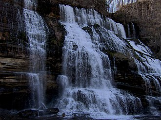 Rock Island State Park (Tennessee) - Twin Falls