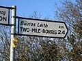 Two-Mile Borris 2,4 mile sign.jpg