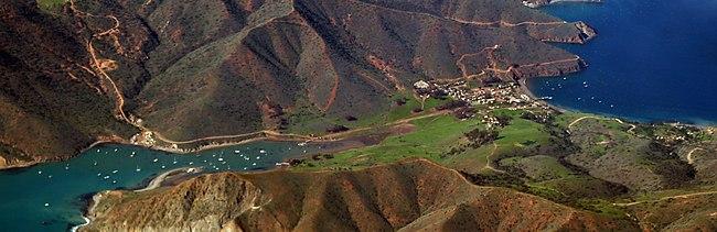 Catalina Island From Newport Beach Ca