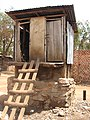 Typical Pit latrine in Kampala slums (3482582585).jpg