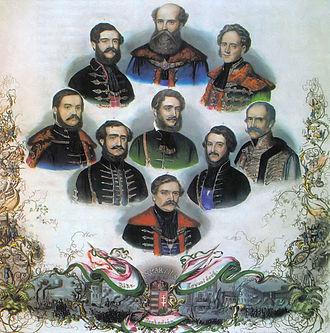 Lajos Batthyány - Batthyány's government