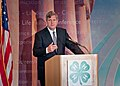 U.S. Department of Agriculture (USDA) Secretary Tom Vilsack delivers the keynote remarks to approximately 300 youth members, Extension Educators and 4-H Adult Volunteers (Pic 3).jpg