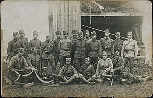 Slovenian Armed Forces - Slovene soldiers during the Austro-Slovene conflict in Carinthia, 1919