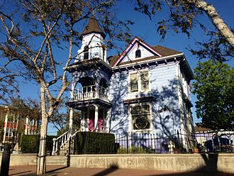 National City, California - House in the Historic District near Mile of Cars