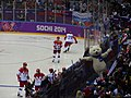 USA vs Russia, mens ice hockey, 2014 Winter Olympics Sochi.jpg
