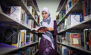 Universiti Sains Islam Malaysia - Image: USIM Library