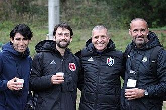 San Diego Zest FC - Four of USL coaches came over to Fukuoka.