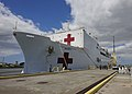 USNS Mercy arrives at Pearl Harbor for Pacific Partnership 2015 150525-N-PZ713-057.jpg