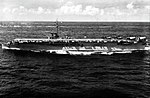 USS Cabot (CVL-28) underway at sea in early 1952.jpg