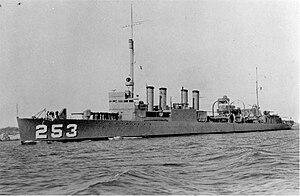 USS McCalla (DD-253)