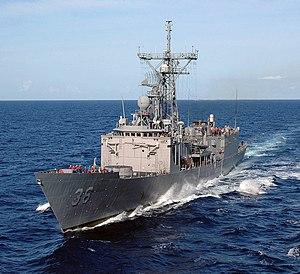 USS Underwood (FFG-36) - USS Underwood FFG-36