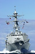 USS Winston S. Churchill (DDG 81) English Channel